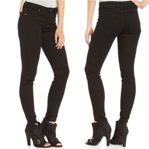 RACHEL Rachel Roy Denim Black skinny Cut Jeans 28